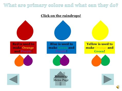 what color does and white make color theory ppt