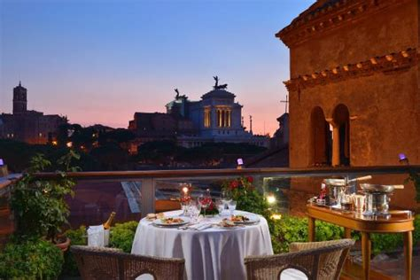 Roof Top Bars In Rome by Ristorante Roof Garden Hotel Forum Roma Monti