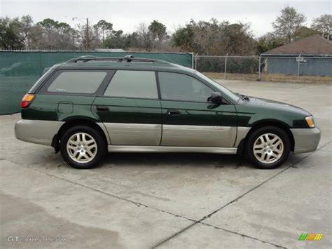 Subaru Outback 2001 by Timberline Green Metallic 2001 Subaru Outback Limited