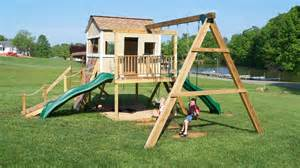 Backyard Playset Kits Ana White Clubhouse Based On Ana S Plan Diy Projects