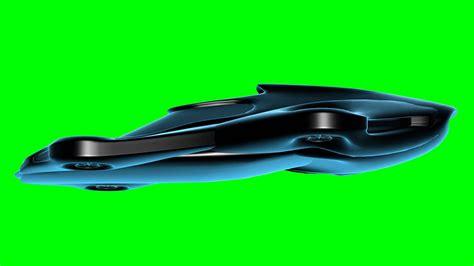 futuristic flying cars futuristic flying car in turbulance in green screen free
