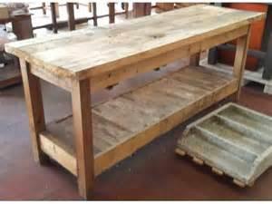 come costruire un tavolo da lavoro in legno pi 249 di 25 fantastiche idee su bancone in legno su