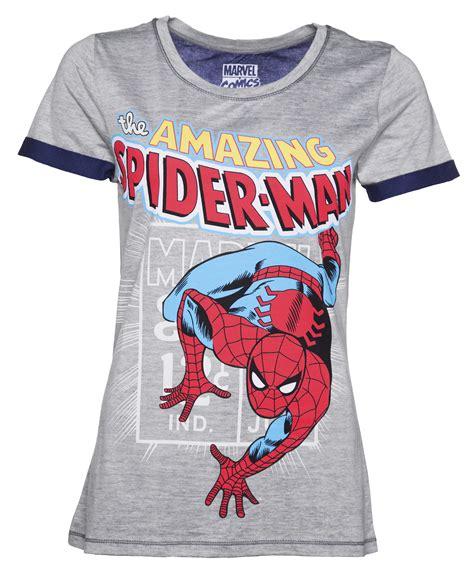 Spider Tshirt s grey marl amazing spider t shirt