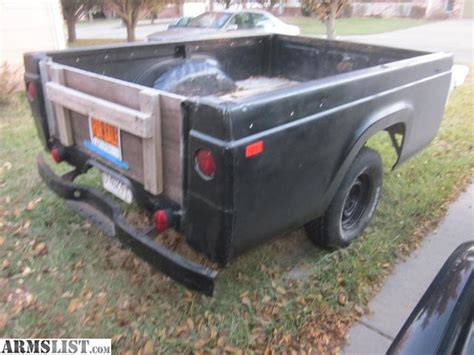 truck bed trailer armslist for sale pickup truck bed trailer
