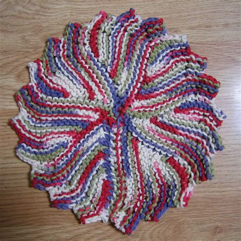 circular dishcloth knitting patterns knitting patterns explained crochet and knit
