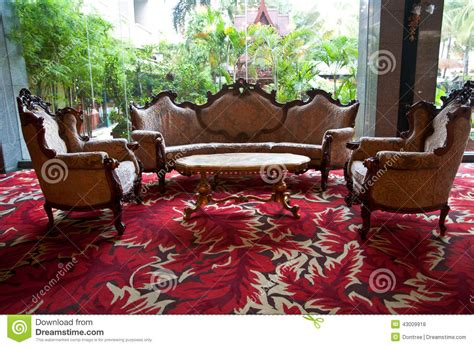 setting furniture in living room comfortable furniture and setting in living room stock