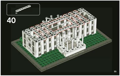 white house lego set lego the white house instructions 21006 architecture