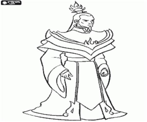 Avatar The Last Airbender Coloring Pages Printable Games Avatar Azula Coloring Pages