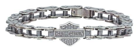 HDB0284   Harley Davidson® .925 Silver Thin Bike Chain Bracelet   Barnett Harley Davidson®
