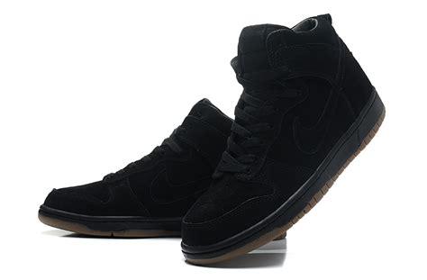 nike dunk high shoes black 607543 090