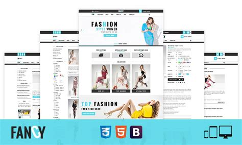 bootstrap ecommerce templates fancy fashion bootstrap ecommerce html template