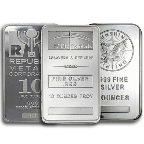 10 oz silver bars for sale 10 oz silver bar silver bars for sale money metals