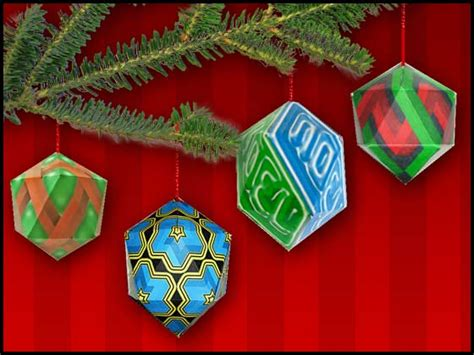 christmas ornament math project free craft downloads geometric ornaments