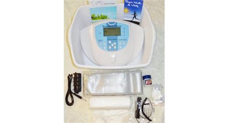 Ion Detox Foot Spa Reviews by Ionic Foot Cleanse Foot Spa Bath Detox Foot Spa Machine