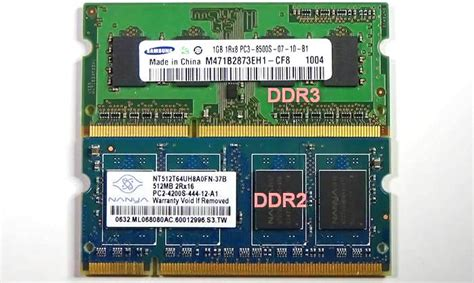 Ram Laptop V what is the difference between laptop ram ddr1 ddr2 ddr3