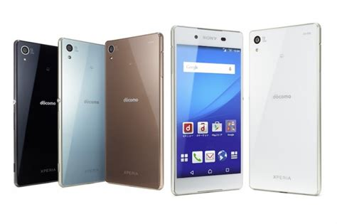 Sony Xperia Z3 Z4 Docomo xperia z4 to launch on japan s ntt docomo on 10 june