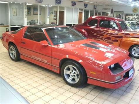 1985 camaro seats 1985 chevrolet camaro iroc z for sale 25 used cars from 3 595