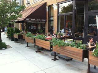 restaurant patio planters 27 best images about restaurant sidewalk on