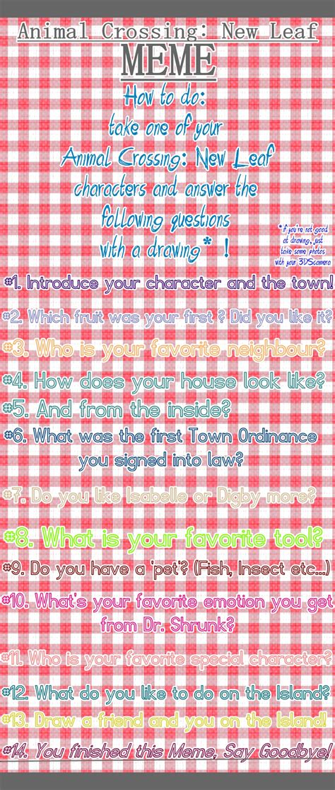 Animal Crossing New Leaf Memes - animal crossing new leaf meme by mondschaum on deviantart
