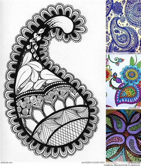 zentangle pattern hi bred 110 best paisley designs images on pinterest paisley