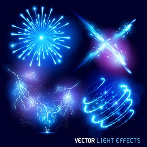Free Vector Light Effects Pack   Free Resource for Designers