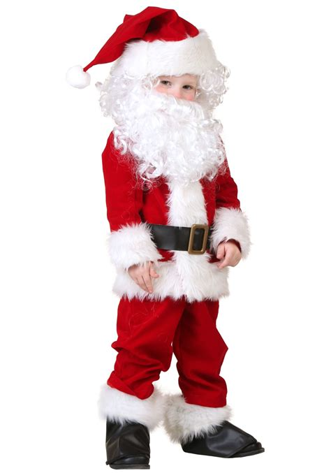 deluxe santa costume for toddlers