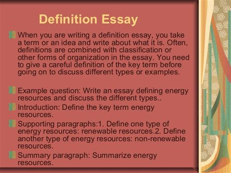 how to write an organized definition essay 5 paragraphs classification essay definition classifying essay save