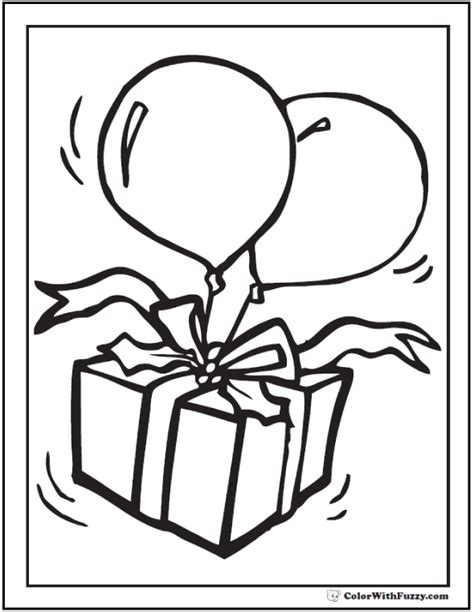 birthday gifts for coloring book for your or for bday coloring book nature themed birthday gift idea books 55 birthday coloring pages customizable pdf