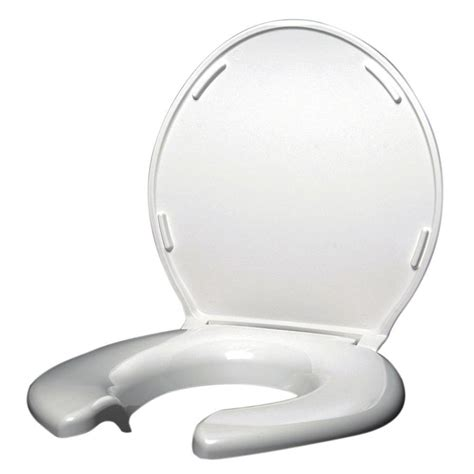 large toilet seat shop big products plastic toilet seat at lowes