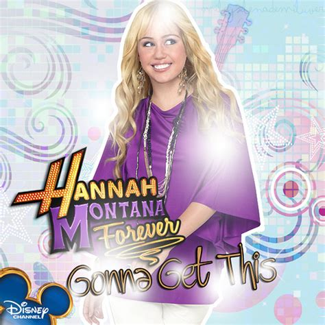 Hannah Montana Gonna Get This Single Cover ... Gonna Get It