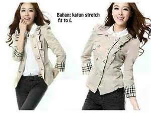 Pleats Blouse Murah blazer fashion butiq laman 2
