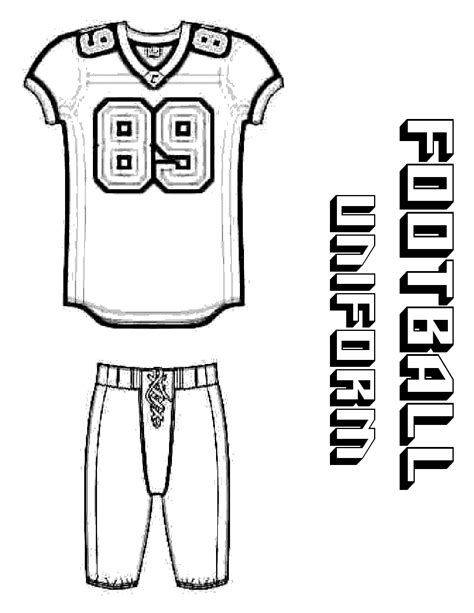 football jersey template football clipart clipartsgram