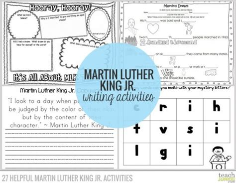 Martin Luther King Jr Worksheets by Martin Luther King Math Worksheets Printable Martin Best