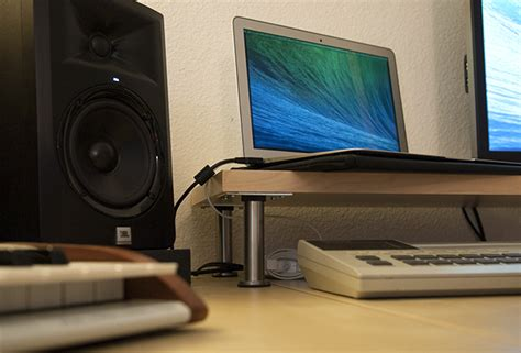 ikea desk speaker stands ikea studio hacks build your creative space on a budget