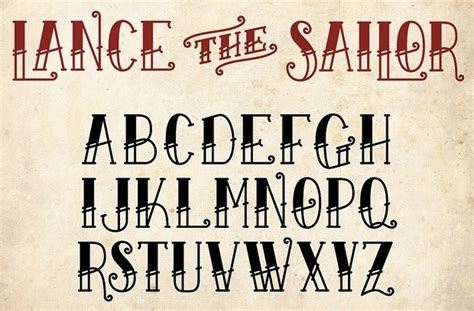 old school tattoo font school font