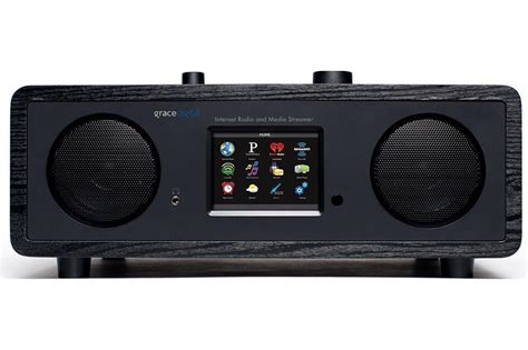 amazon grace digital wi fi music player with 3 5 inch grace digital takes aim at tivoli with new internet radio