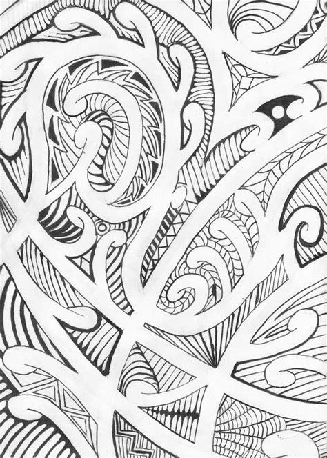 printable tattoo paper nz maori design by victorverhart on deviantart