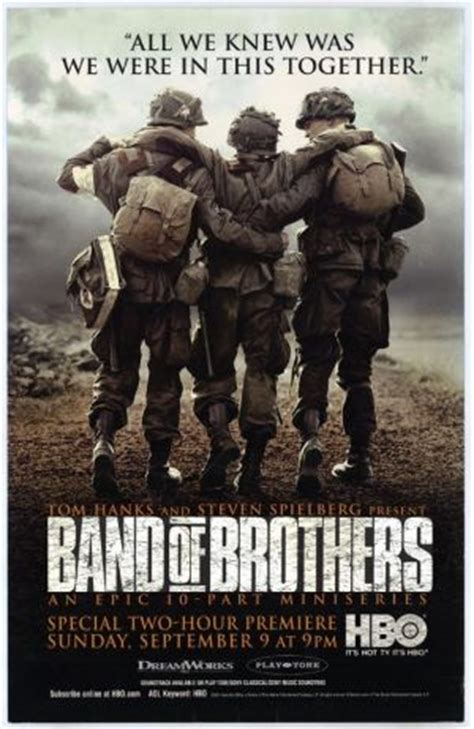 film seri band of brothers hollywood s calling my favourite war films