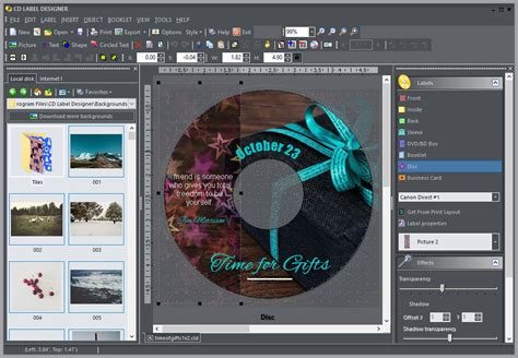 designer software cd dvd label maker software for windows cd label designer