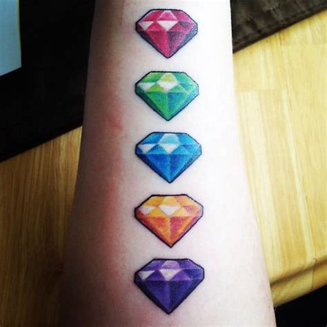 spyro tattoo spyro gems just need green and purple for my