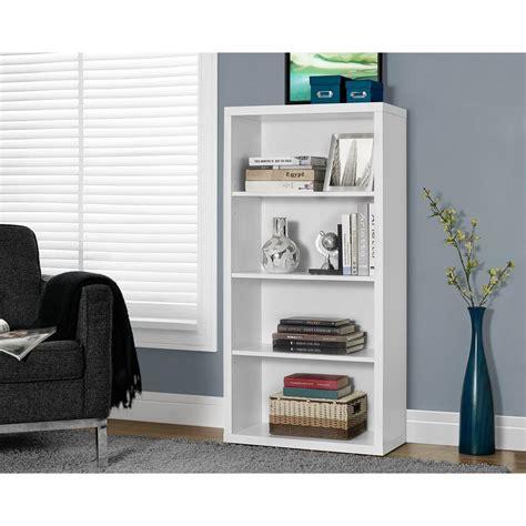 white open bookcase monarch specialties white open bookcase i 2532 the home