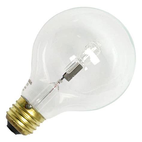 light bulbs sylvania 52575 40g25 hal cl 120v decorative halogen