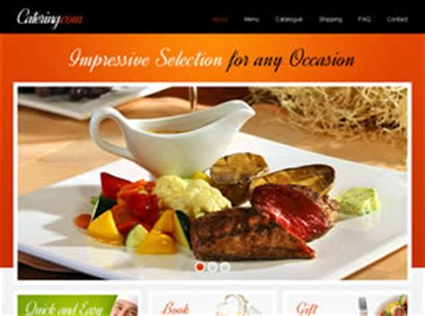 Free Gifts Website Templates 23 Free Css Catering Website Templates