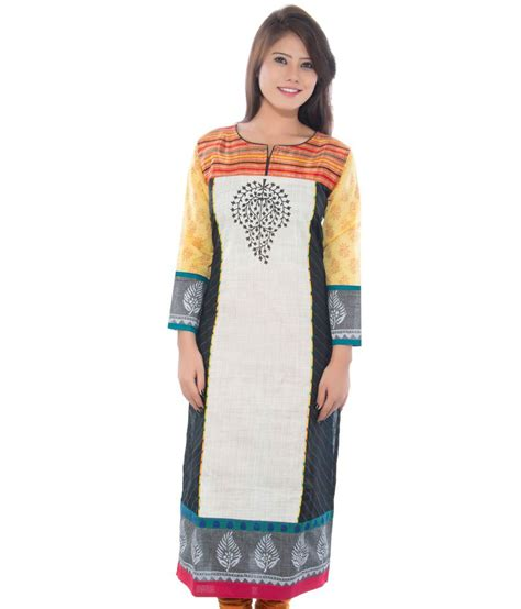 boat neck for kurti satrangi cotton boat neck kurti price in india buy
