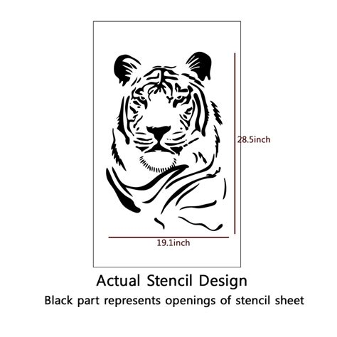 graffiti wall template tiger stencil printable www imgkid the image kid