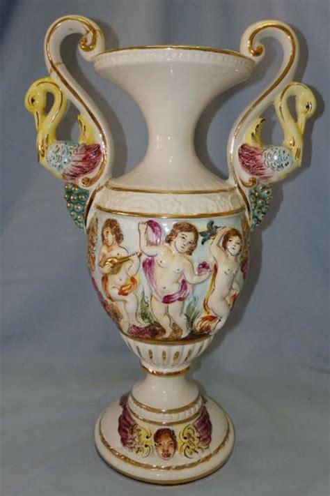 Capodimonte Urn Vase by Other Porcelain Ceramics A Superb Vintage Original