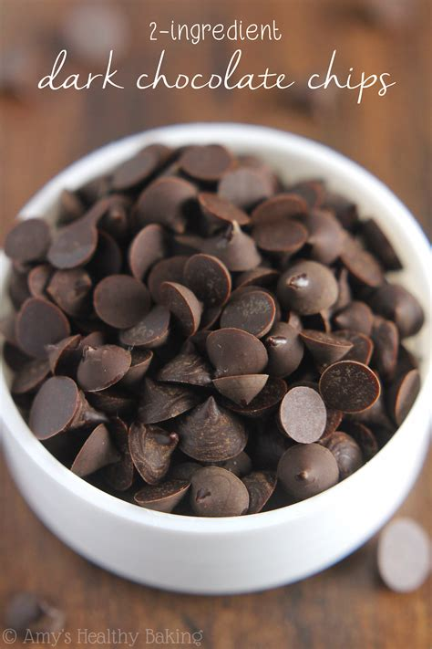 how do you fix a chip in a bathtub homemade two ingredient chocolate chips amy s healthy baking