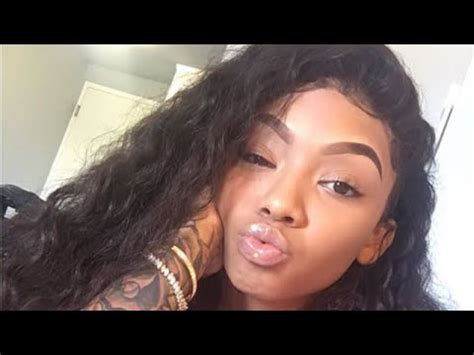 tattooed dolls instagram cuban doll shows off her tattoos on instagram live youtube