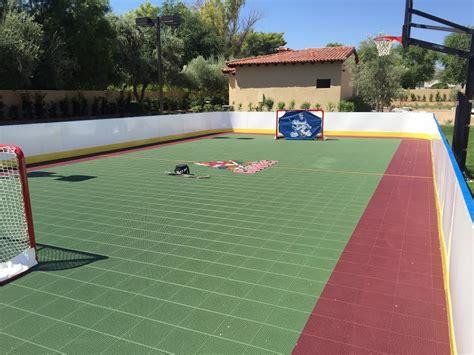 rinks backyard triyae backyard rink kit various design