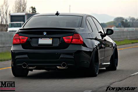 bmw e90 cole durden s e90 335i brings the fight on forgestar f14